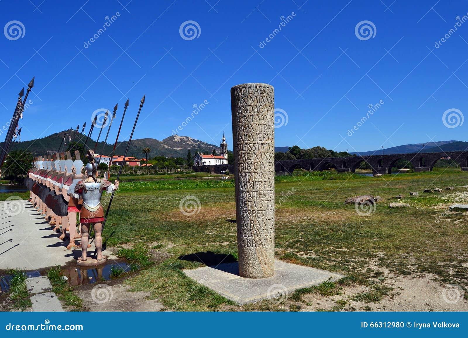 Soldats romains de Ponte De Lima