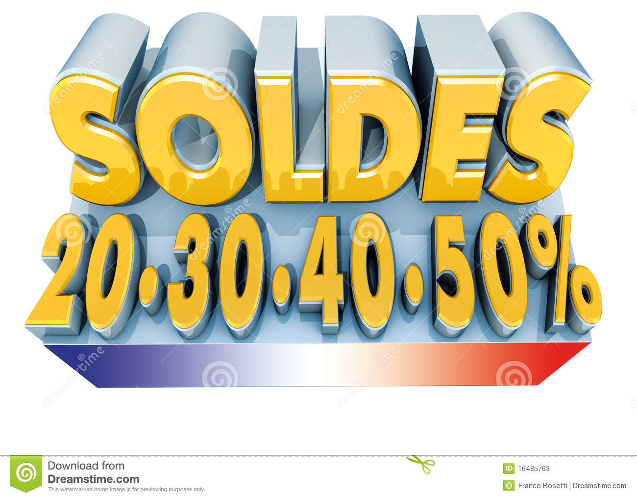 Soldes and france flag stock photos image 16485763 for But fr soldes