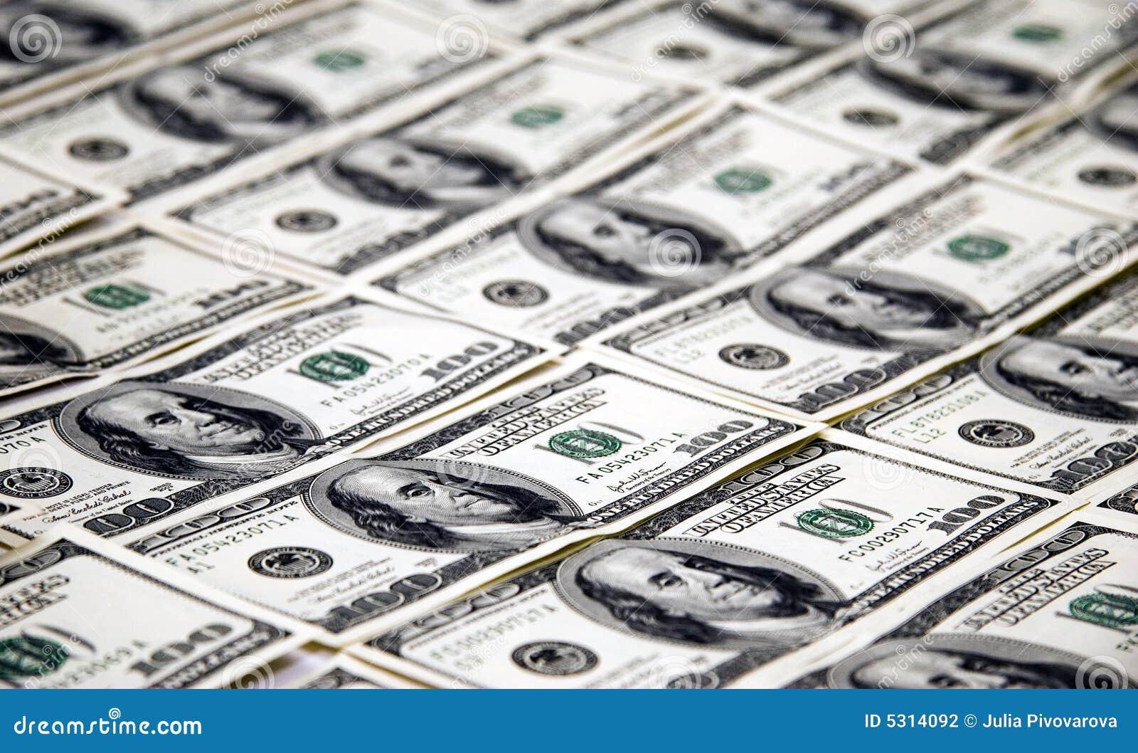 Download Soldi $ 100 Fatture Del Dollaro Fotografia Stock - Immagine di unità, valuta: 5314092