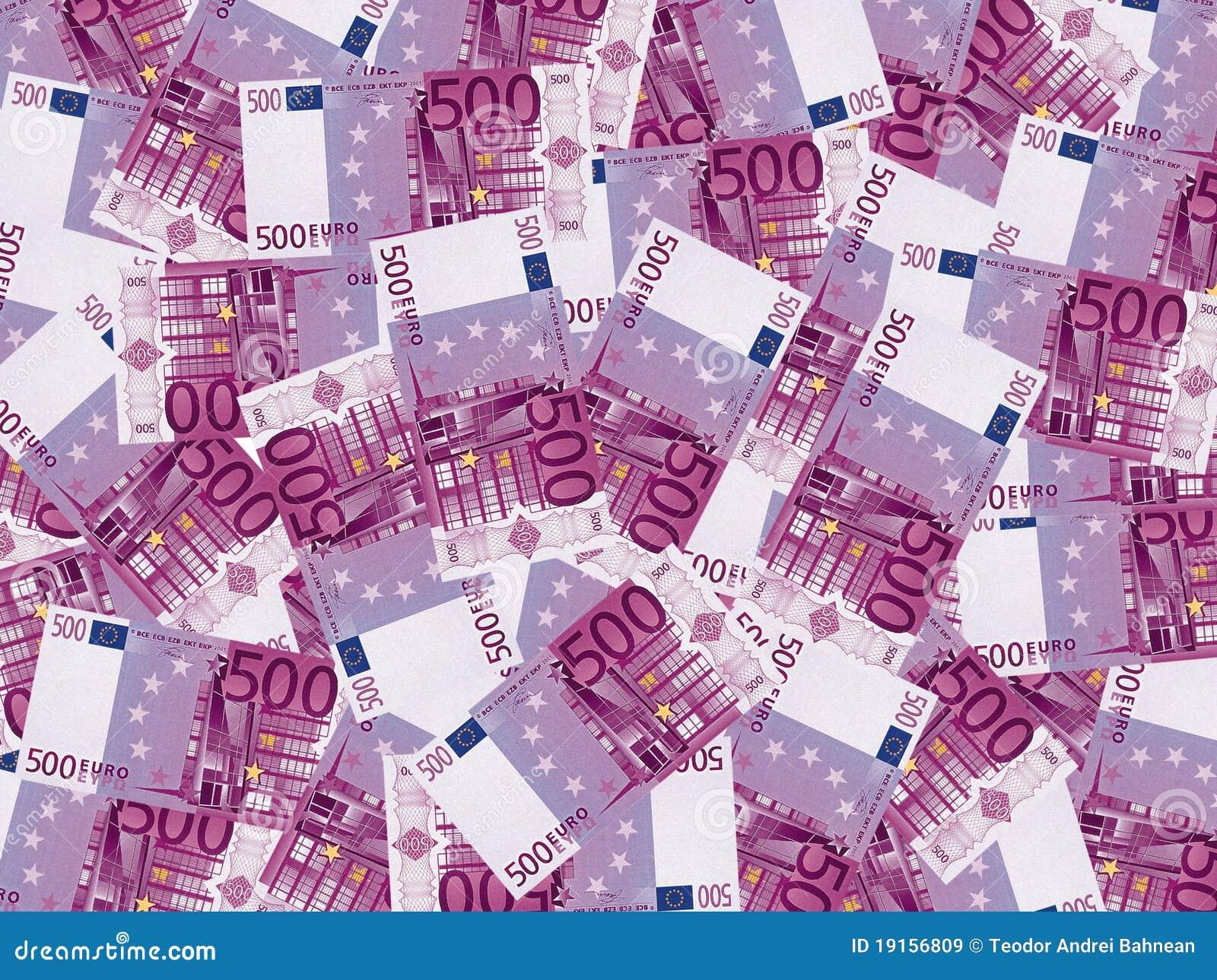 Soldi dell euro 500