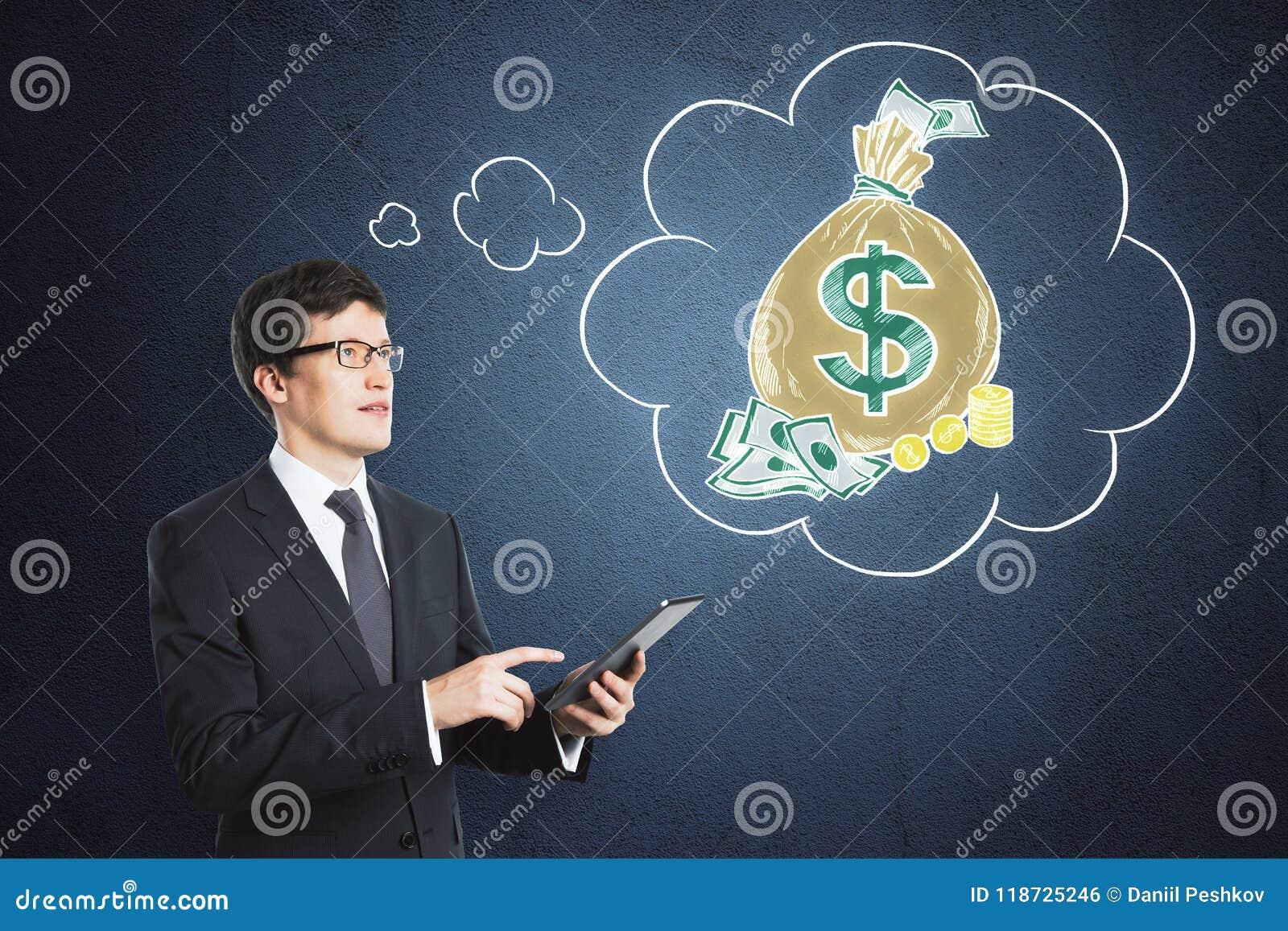 Soldi e concetto di ricchezza