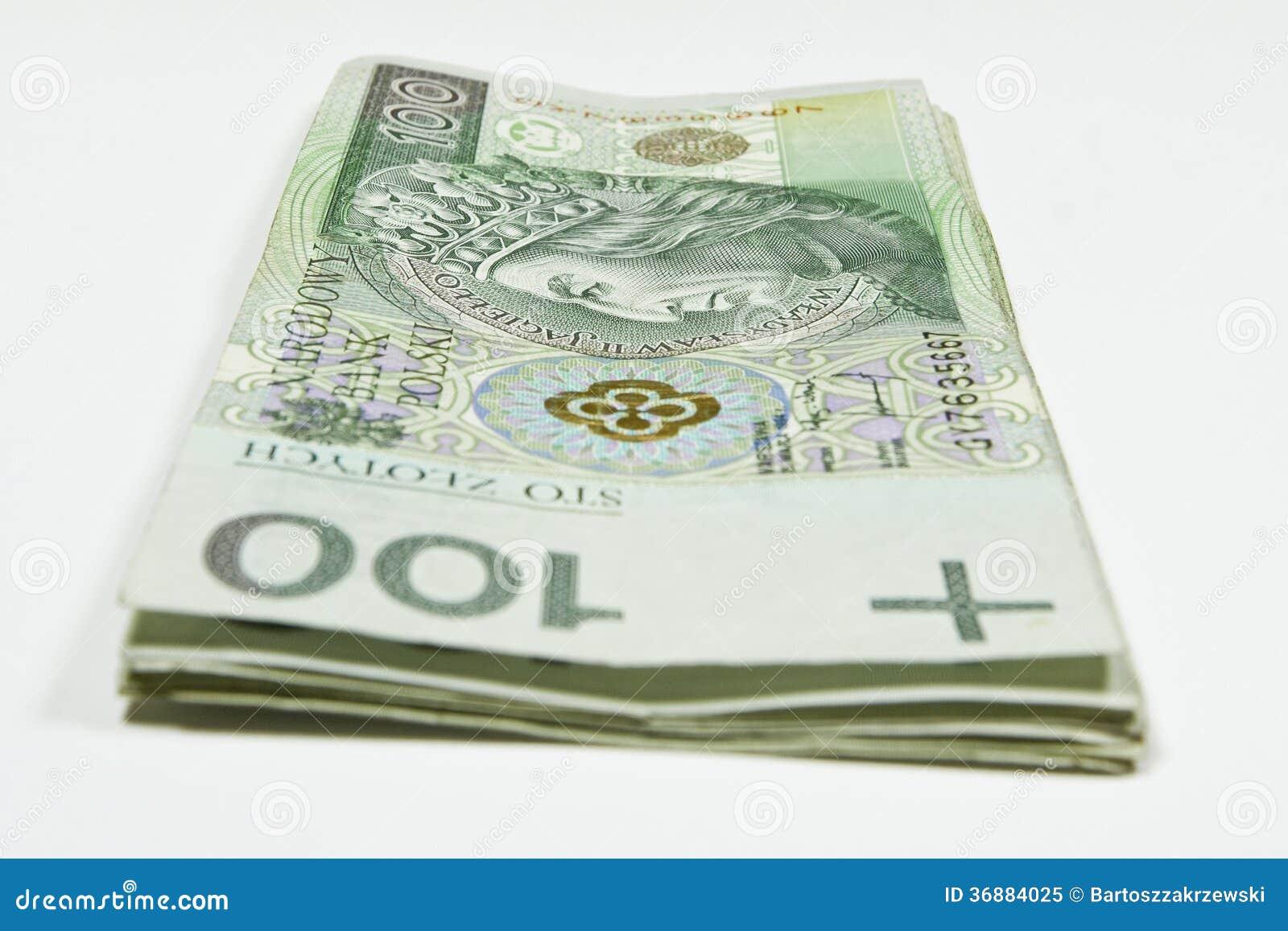 Download Soldi polacchi immagine stock. Immagine di banconota - 36884025