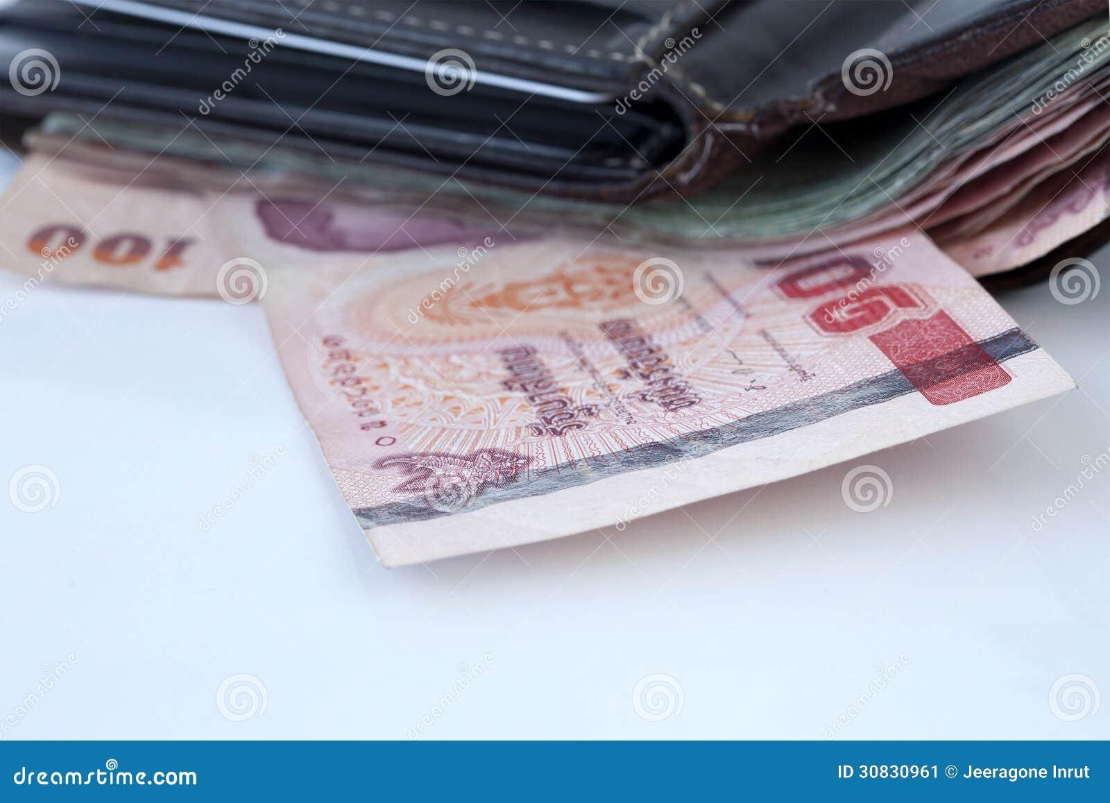 Soldi tailandesi in portafoglio