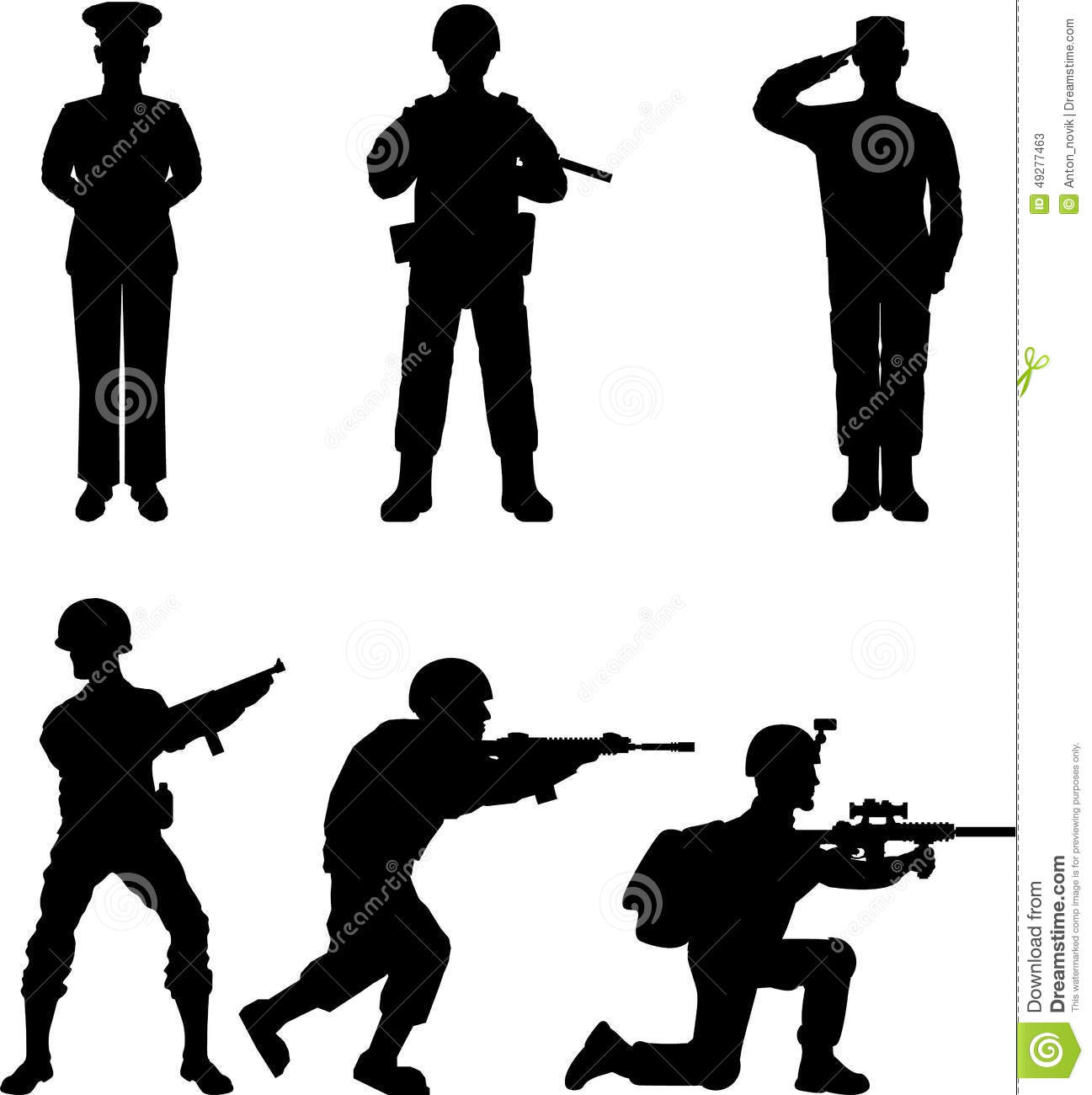 soldiers stock vector illustration of armed conflict 49277463 rh dreamstime com soldier vector free download soldiers victorville ca