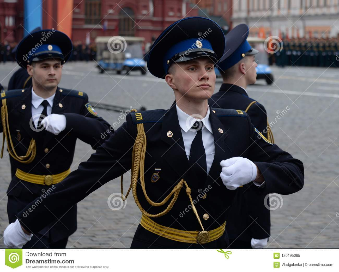 899a3310a00 Soldiers Of The Presidential Regiment At The Rehearsal Of The ...
