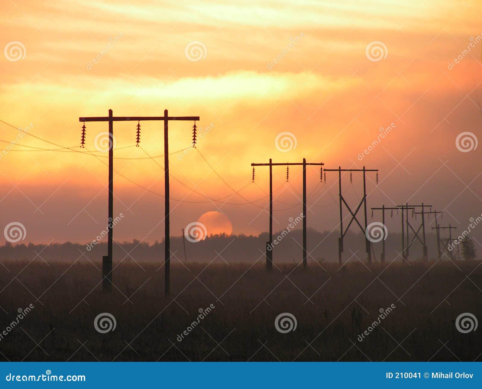 Sole + elettrificazione della nebbia.