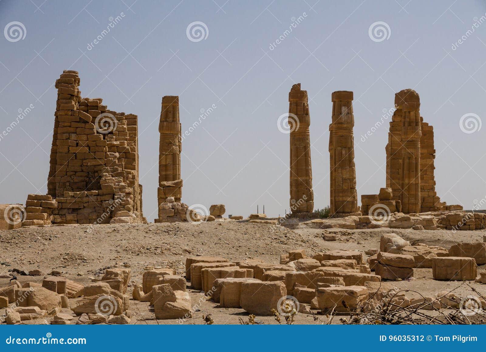 Soleb świątynia Sudan