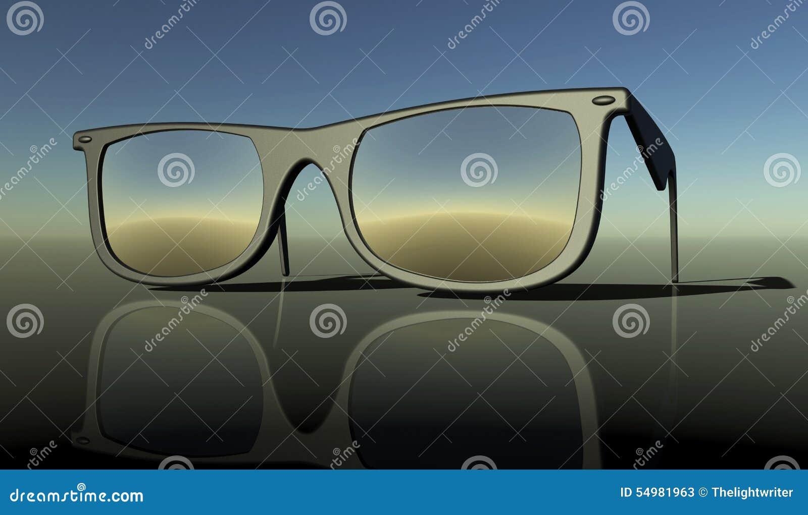 Solexponeringsglas på en baksidajordning