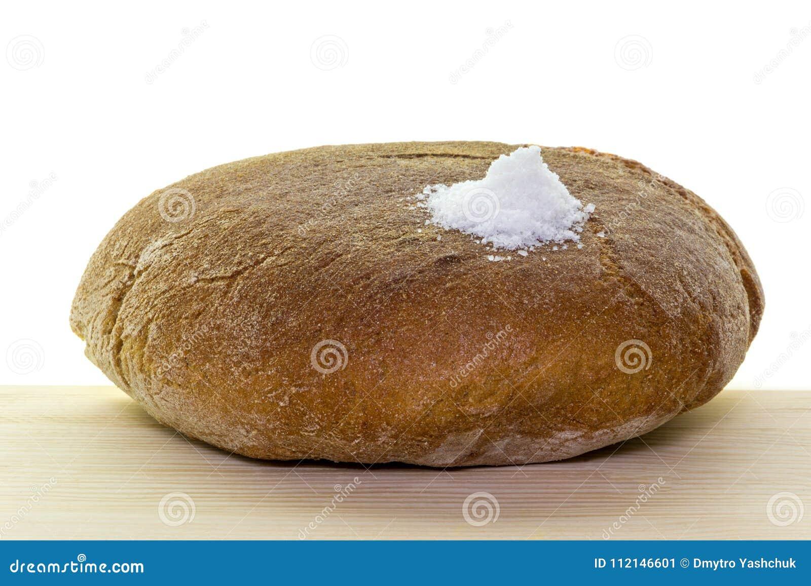 Soli chlebowy powitanie Tradycyjny rytuał ofiary sól mile widziany gość i chleb