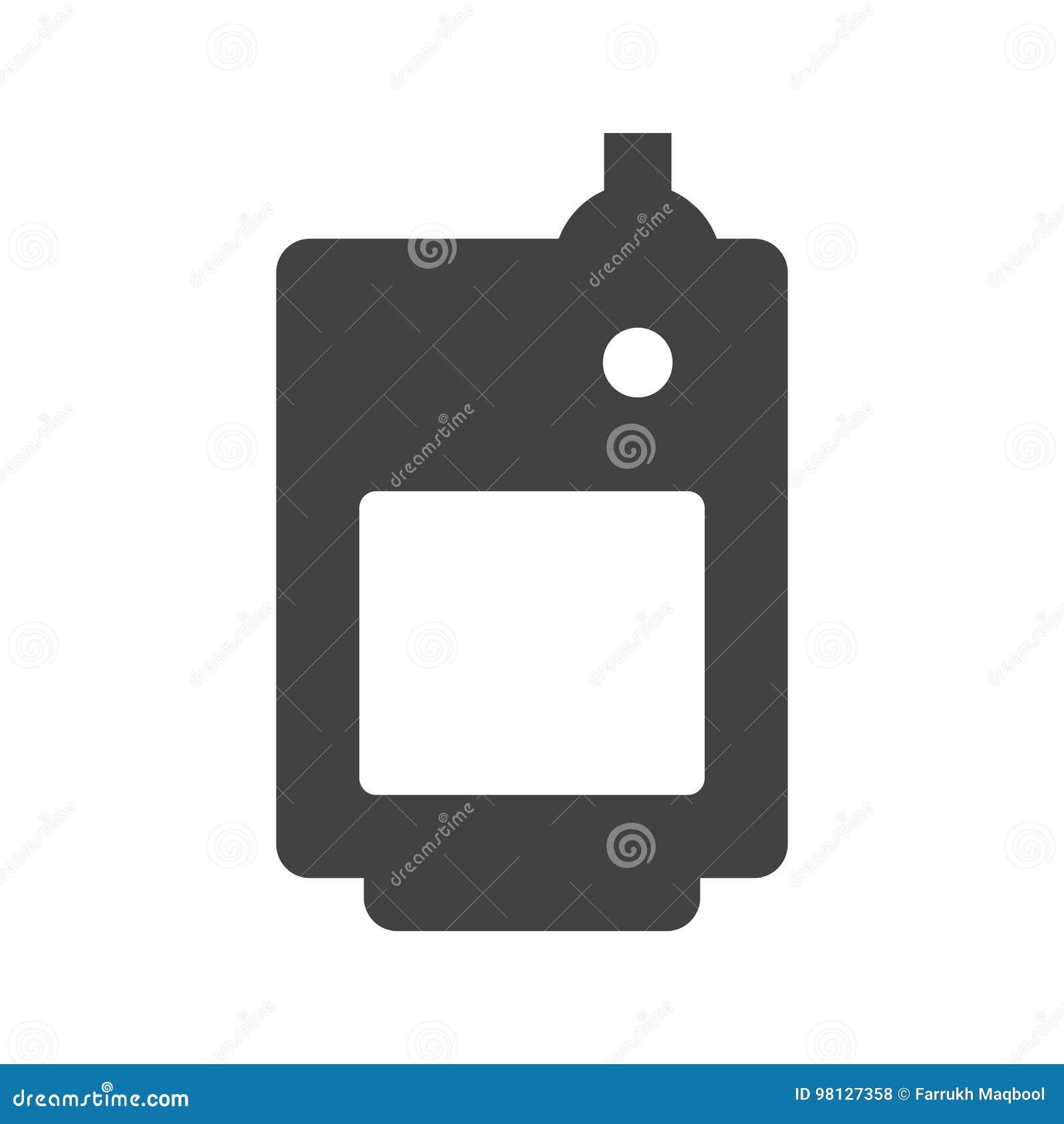 Solid Fuel Boiler stock vector. Illustration of winter - 98127358