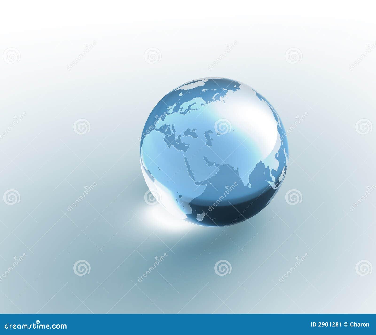 Another World Glass Ball
