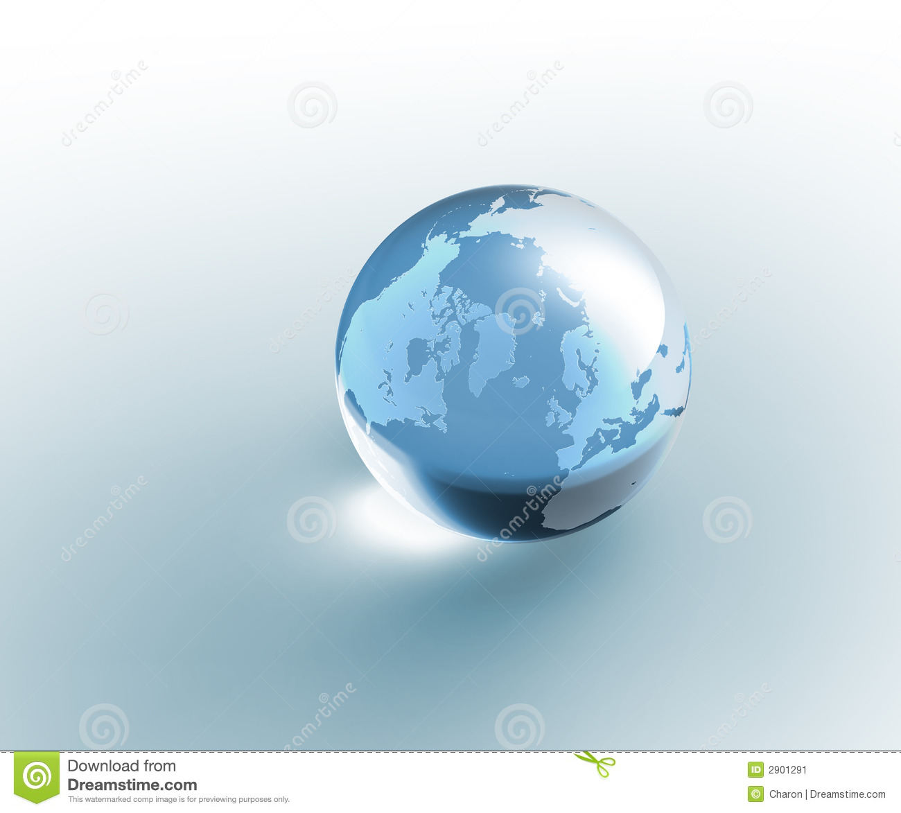 Solid Glass Glo... Globe Clipart Transparent