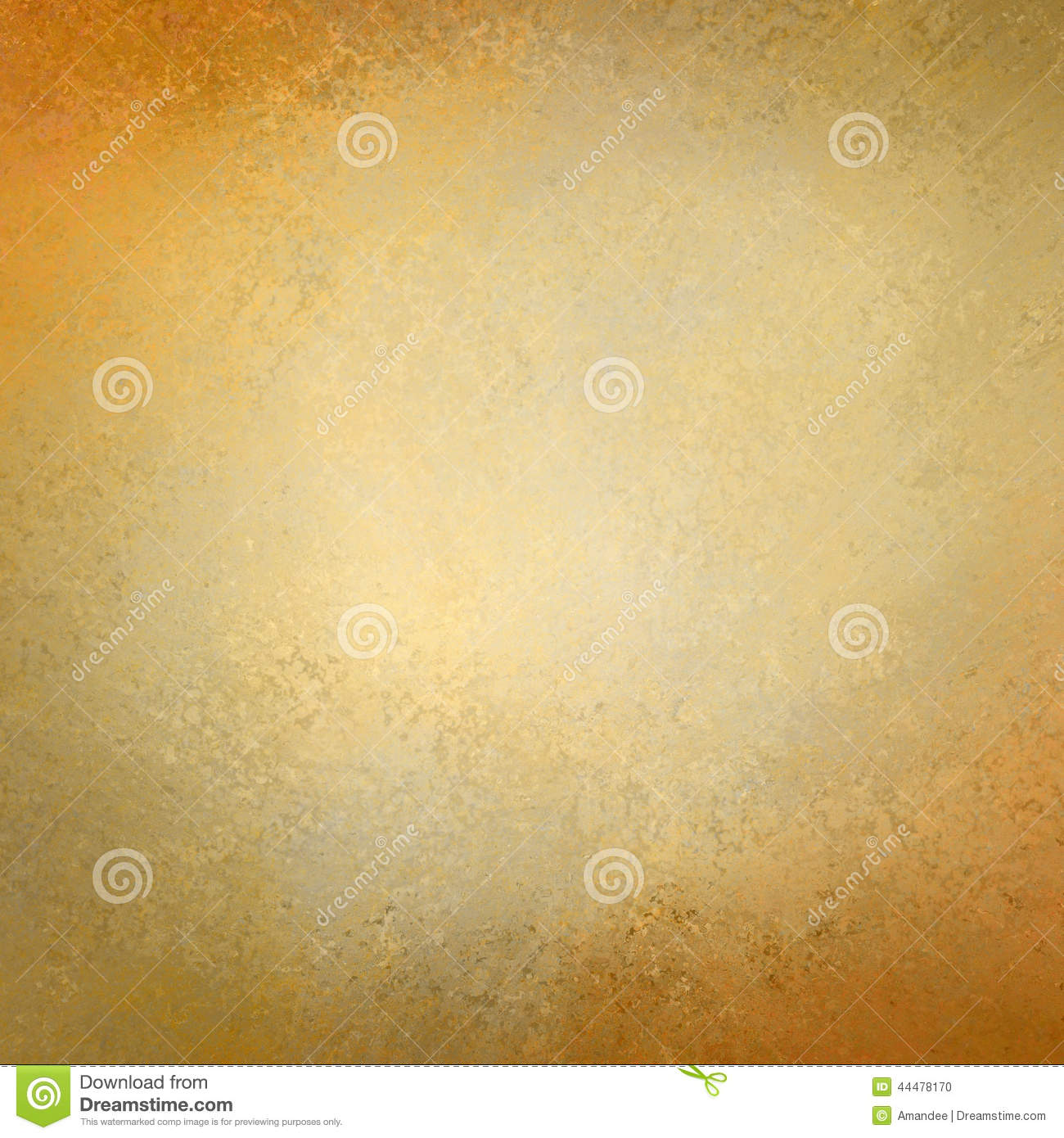 Solid Gold Background Paper With Vintage Grunge Texture Design Stock ...