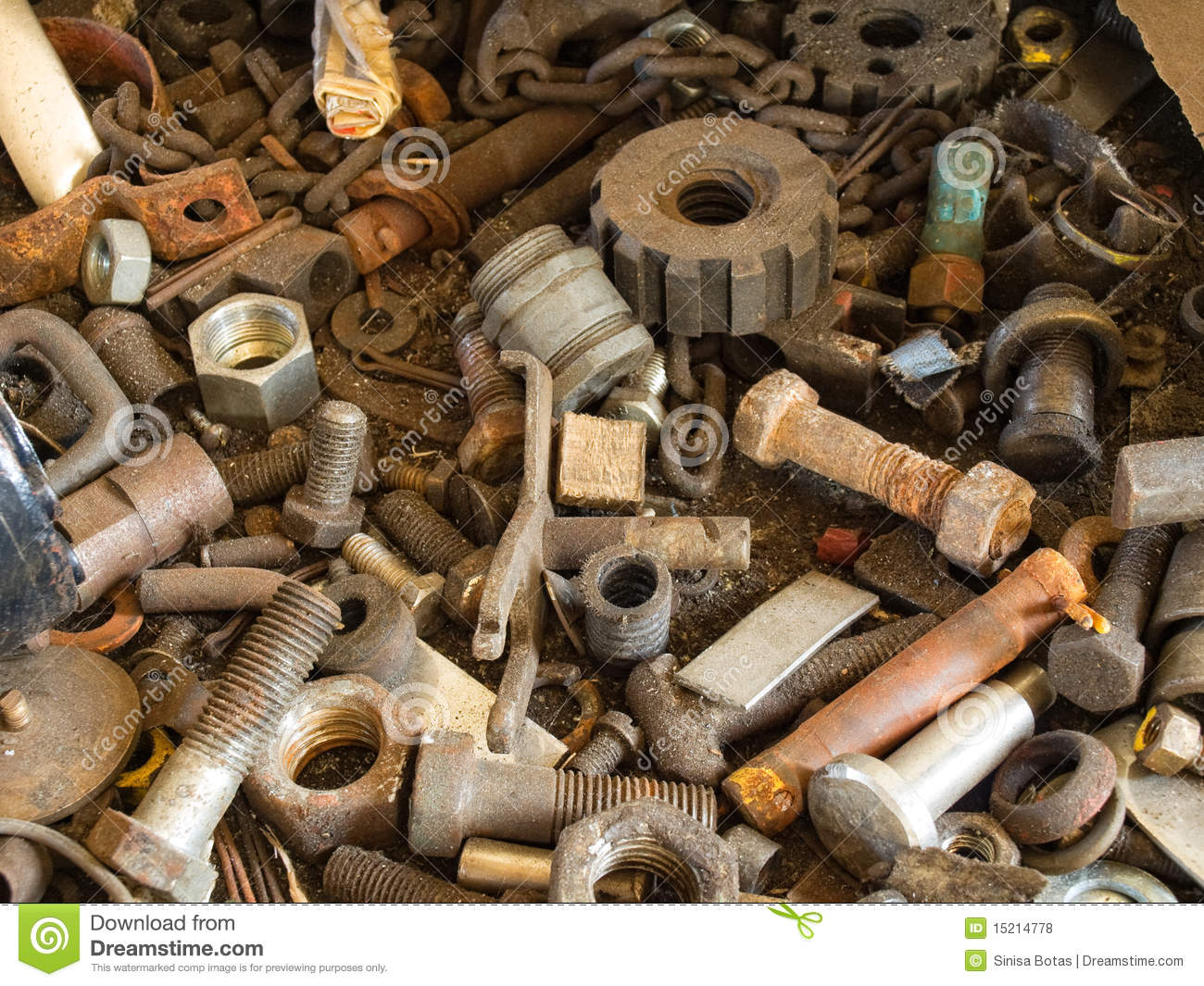 Solid Industrial Waste Royalty Free Stock s Image
