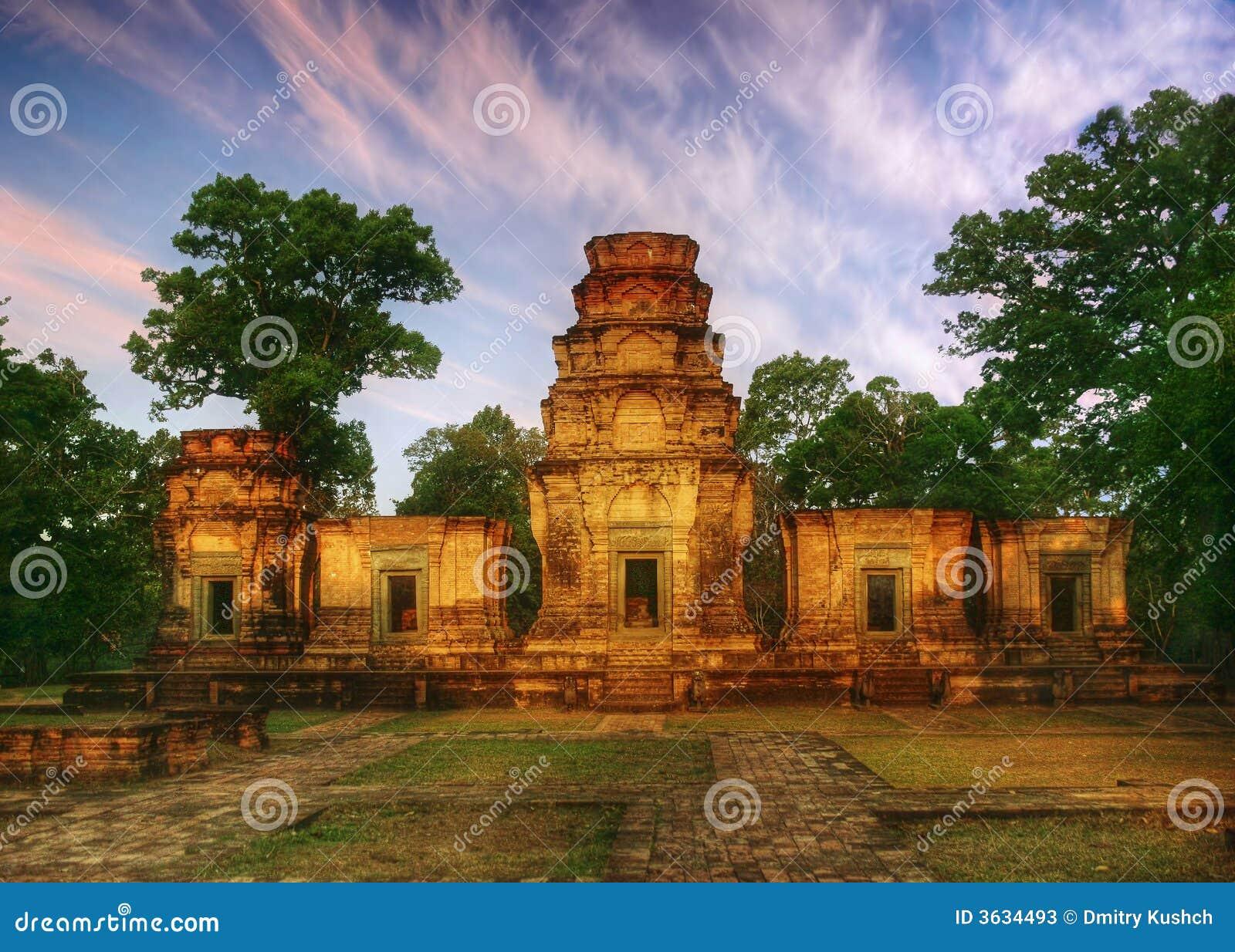 Soligt tempel