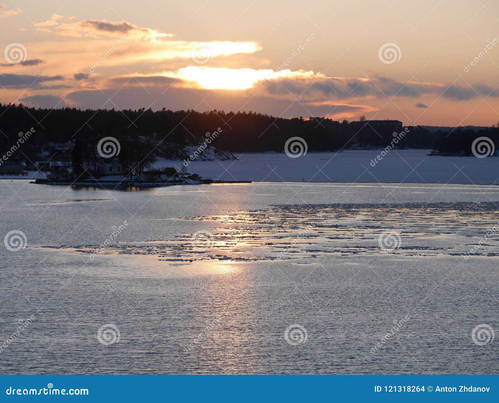 Solnedgång sweden