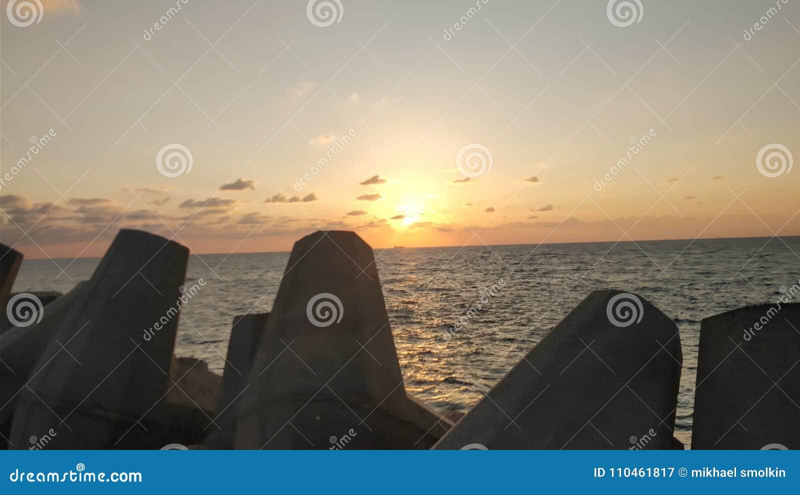 Solnedgångkast claudsna