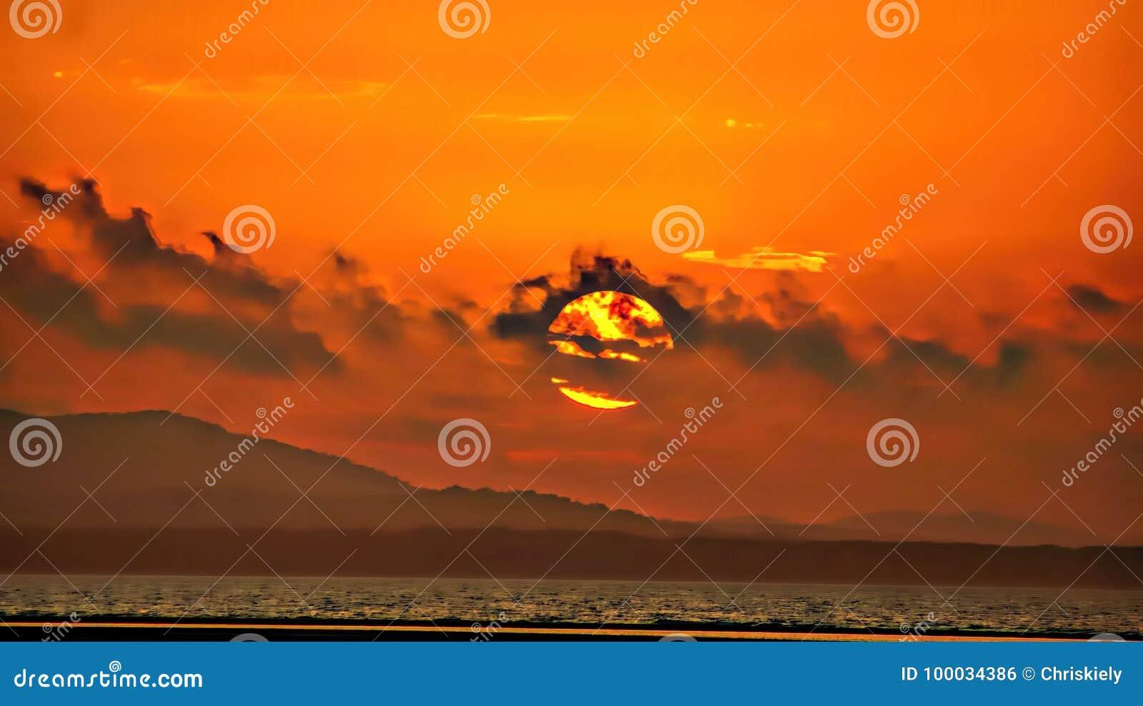 Solnedgångmoln