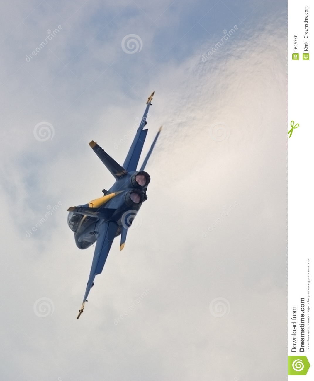 solo blue angel turns and burns stock photo - image of military