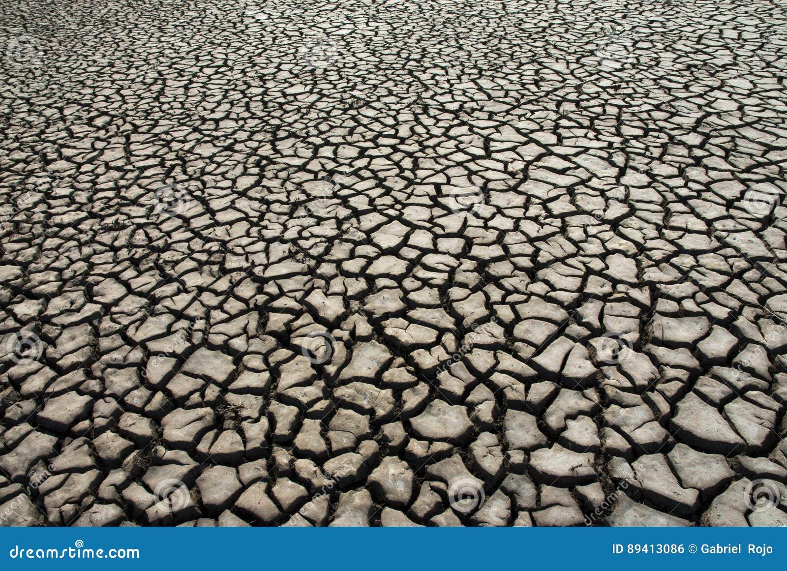 Solo seco La Pampa Argentina