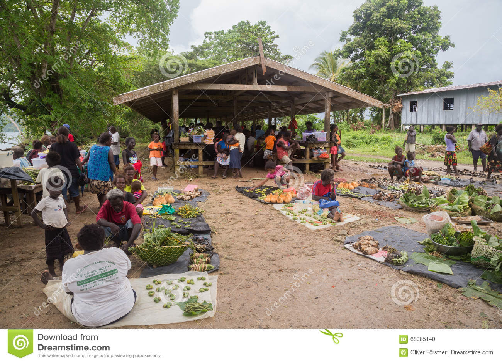 Solomon Islands Local Market