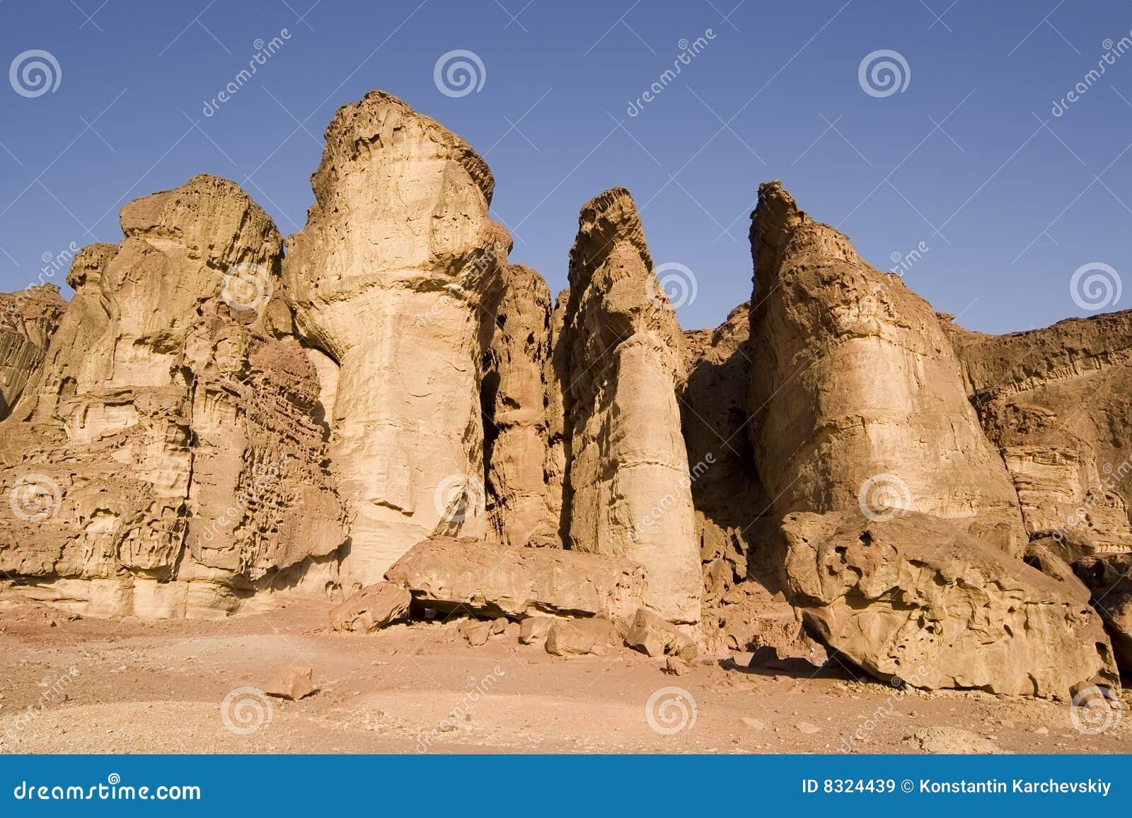 Solomon s pillars