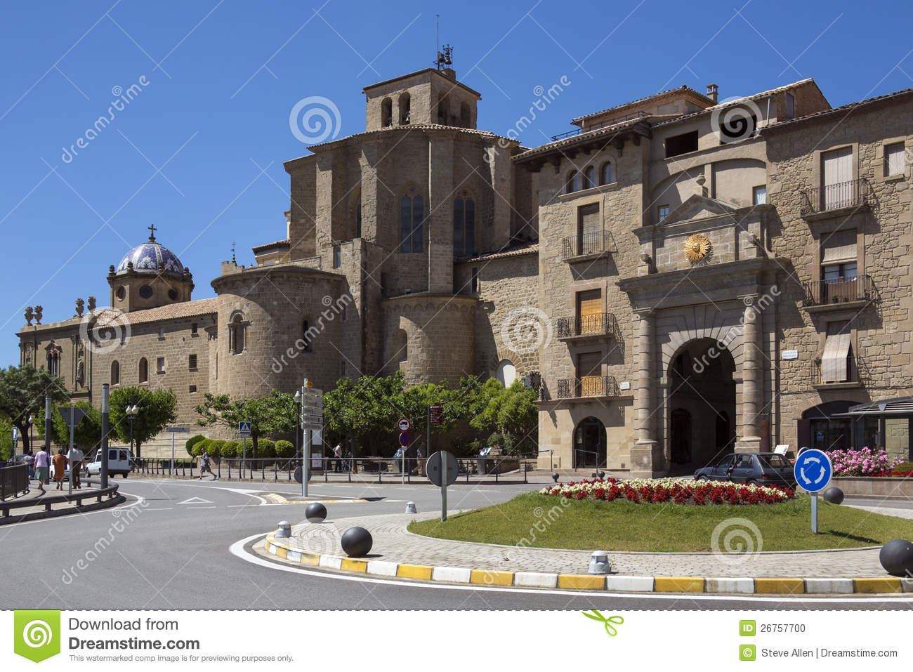 Solsona Spain  city photo : ... in the town of Solsona in the Catalonia region of north east Spain