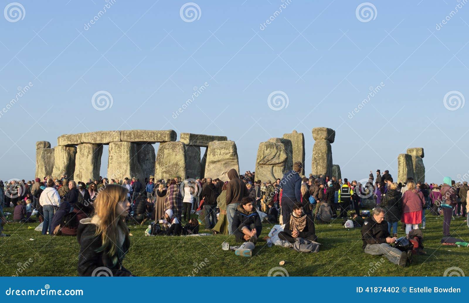 Solstice morning at Stonehenge