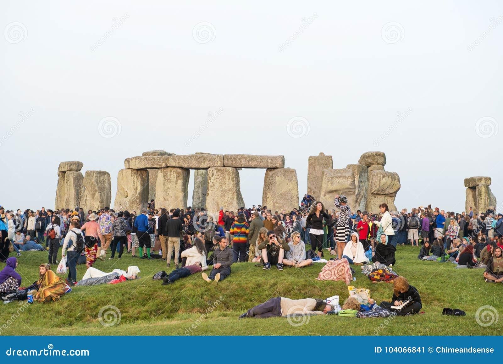 Solsticio de verano de Stonehenge