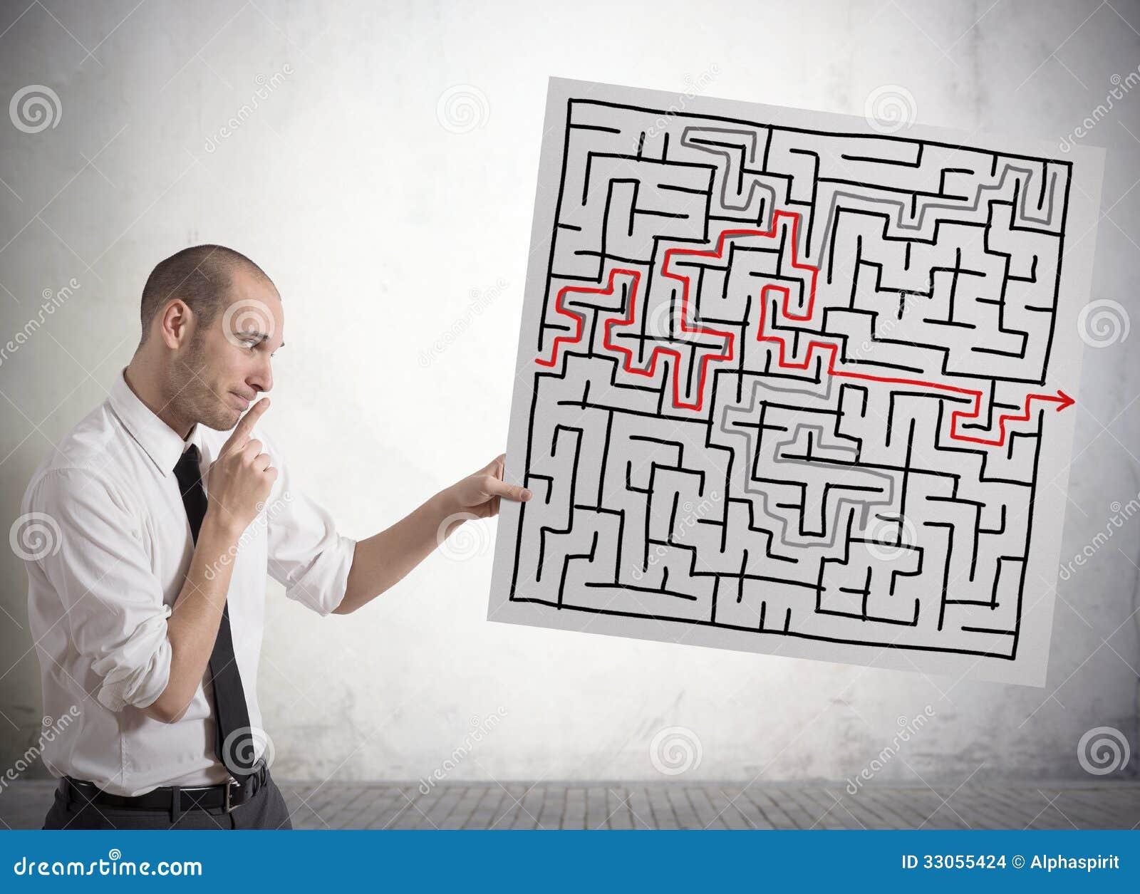 Solução para o labirinto
