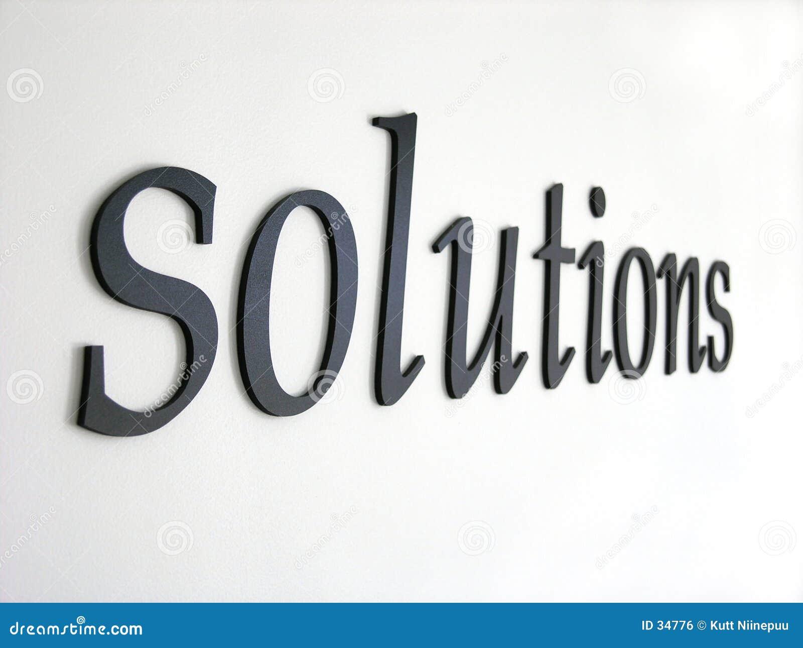 Download Soluciones foto de archivo. Imagen de denim, palabra, recorte - 34776