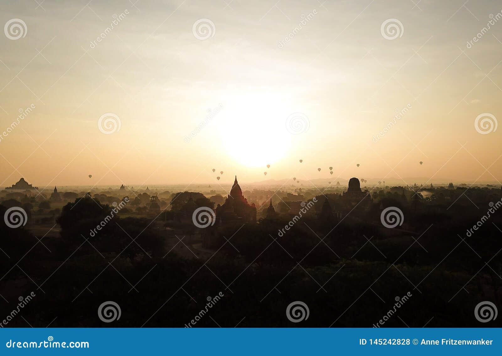 Soluppg?ng i Myanmar