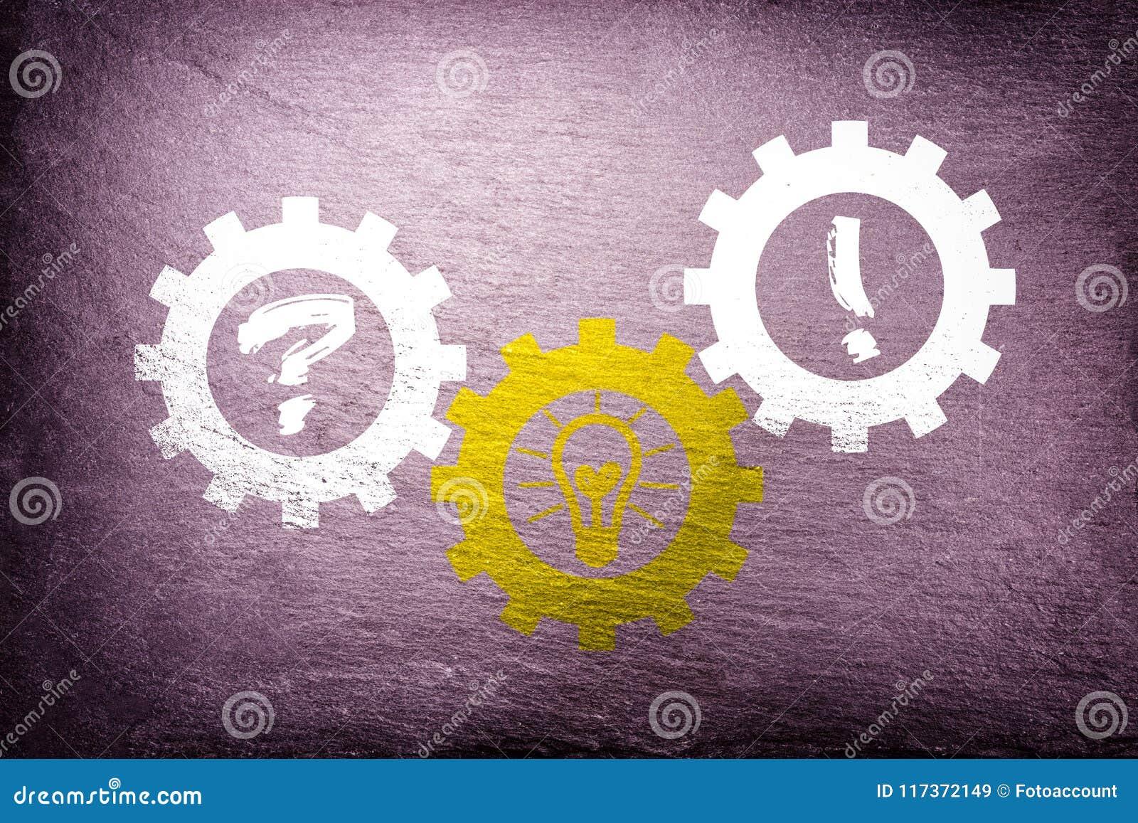 Solution individuelle trouvant - concept d affaires de travail d équipe