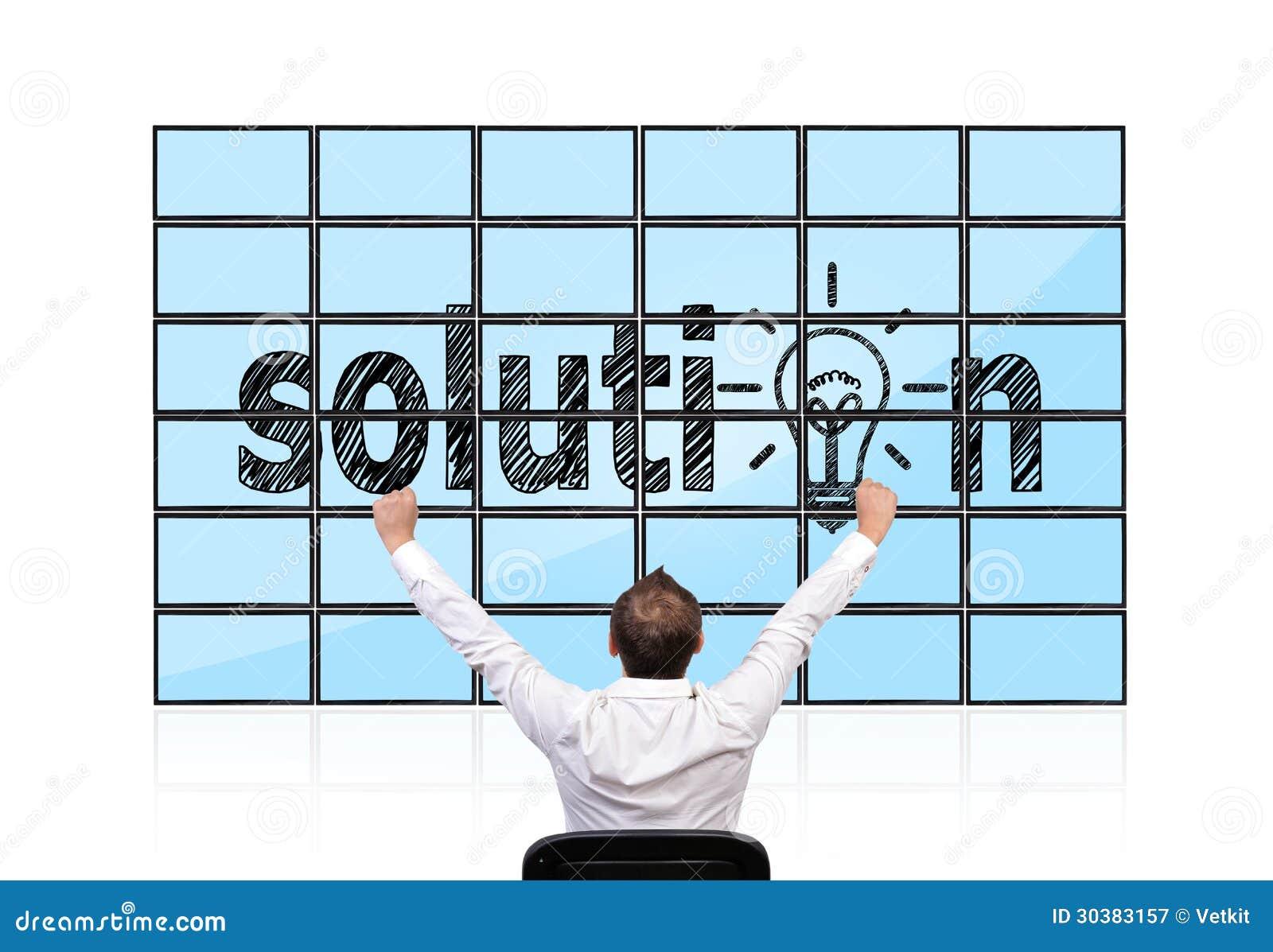 Solution sur des écrans plats