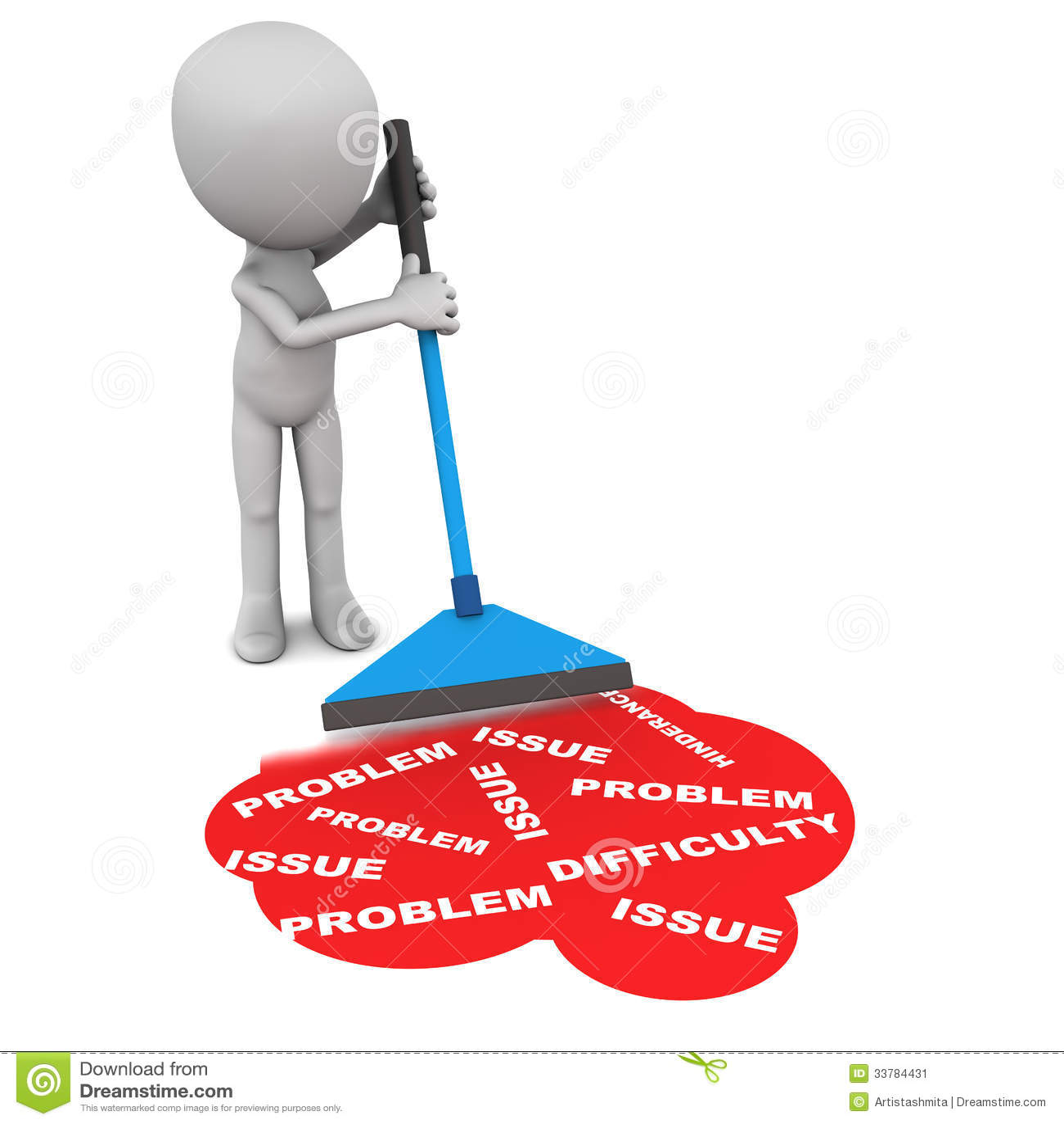 Troubleshoot Errors: Solve Problems Stock Illustration. Illustration Of Hurdle