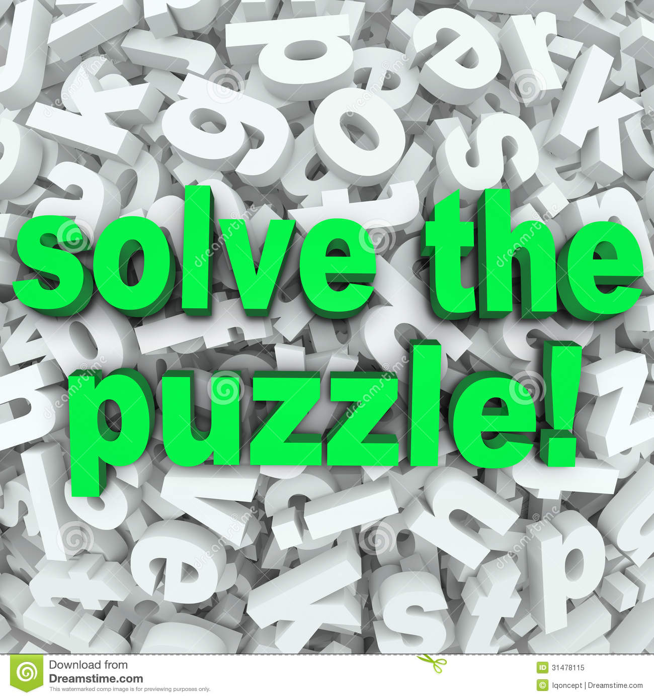 Solve The Puzzle Word Search Jumble Difficult Letter