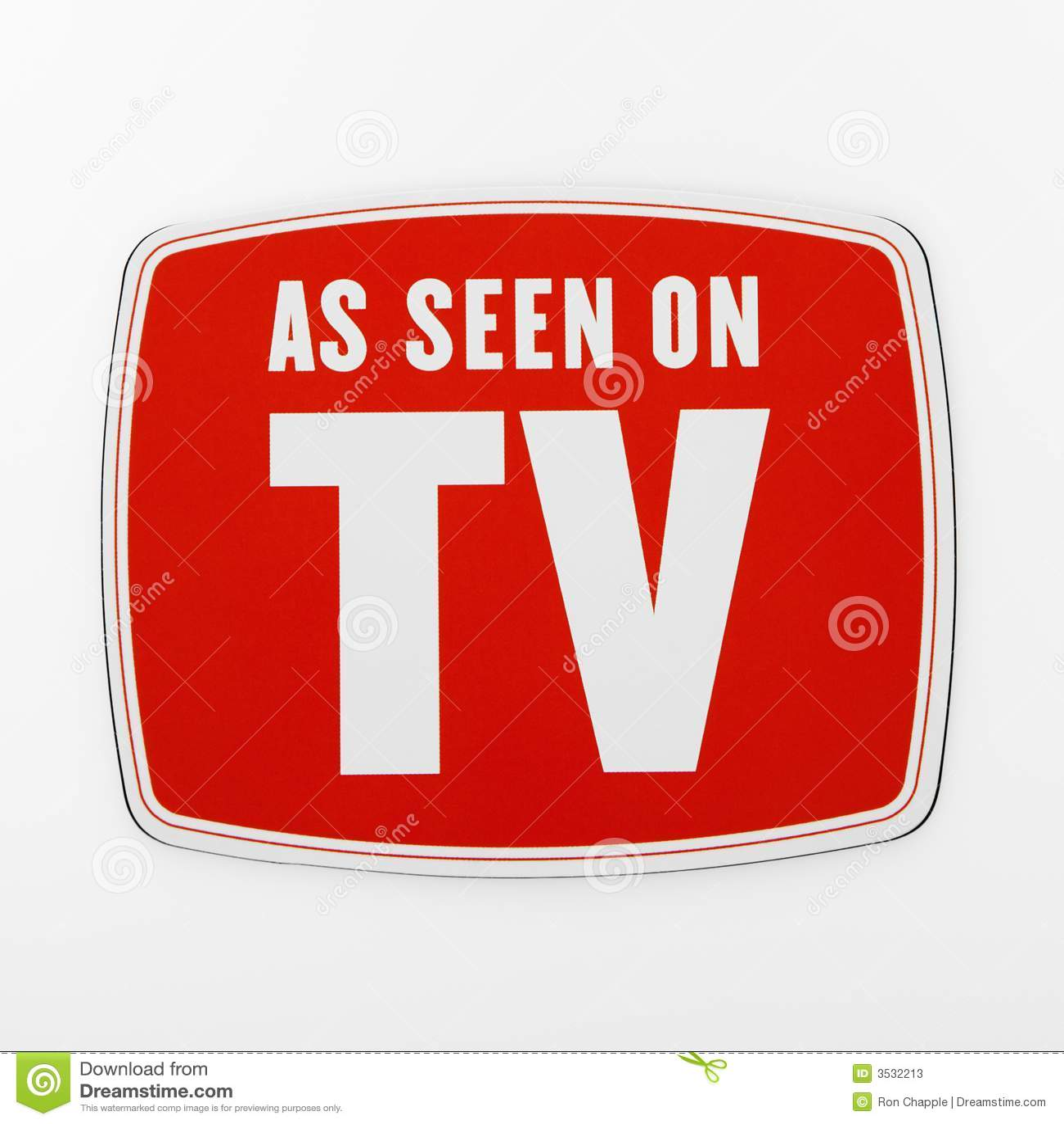 Som den sedda tv:n