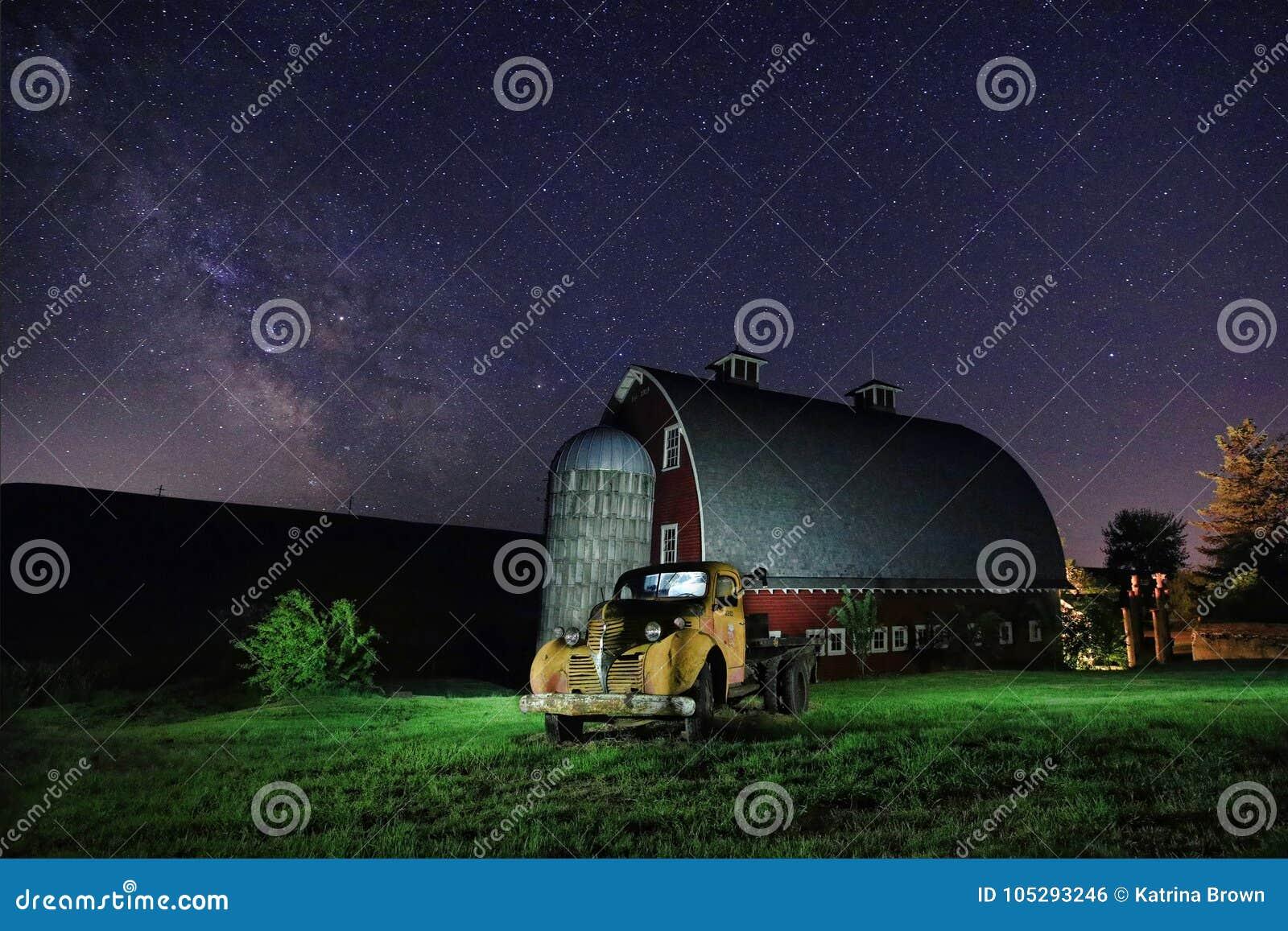 Som ej längre används exponering för stjärnaslinganattetid i Palouse Washington