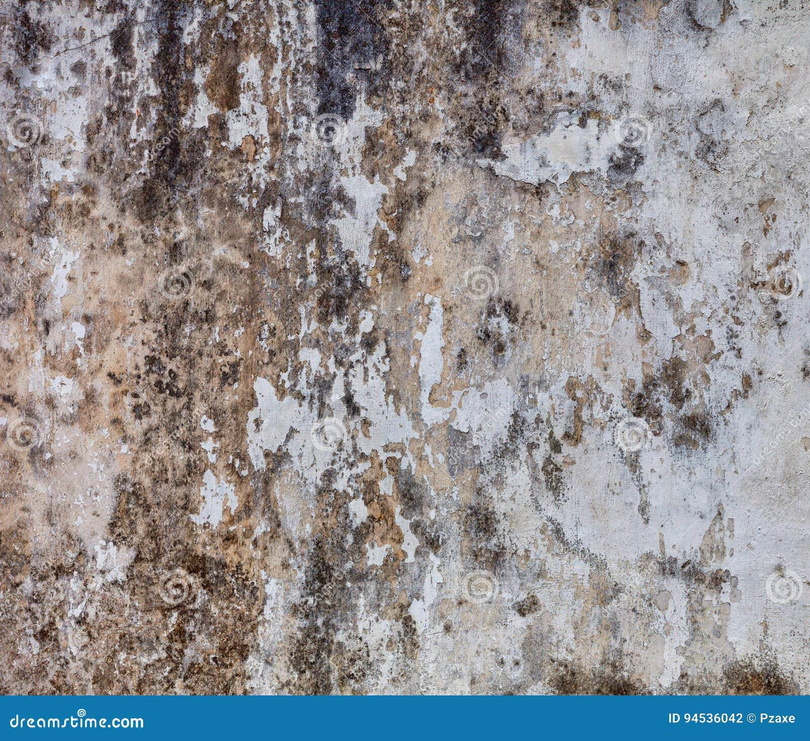 Sombere muur met vorm