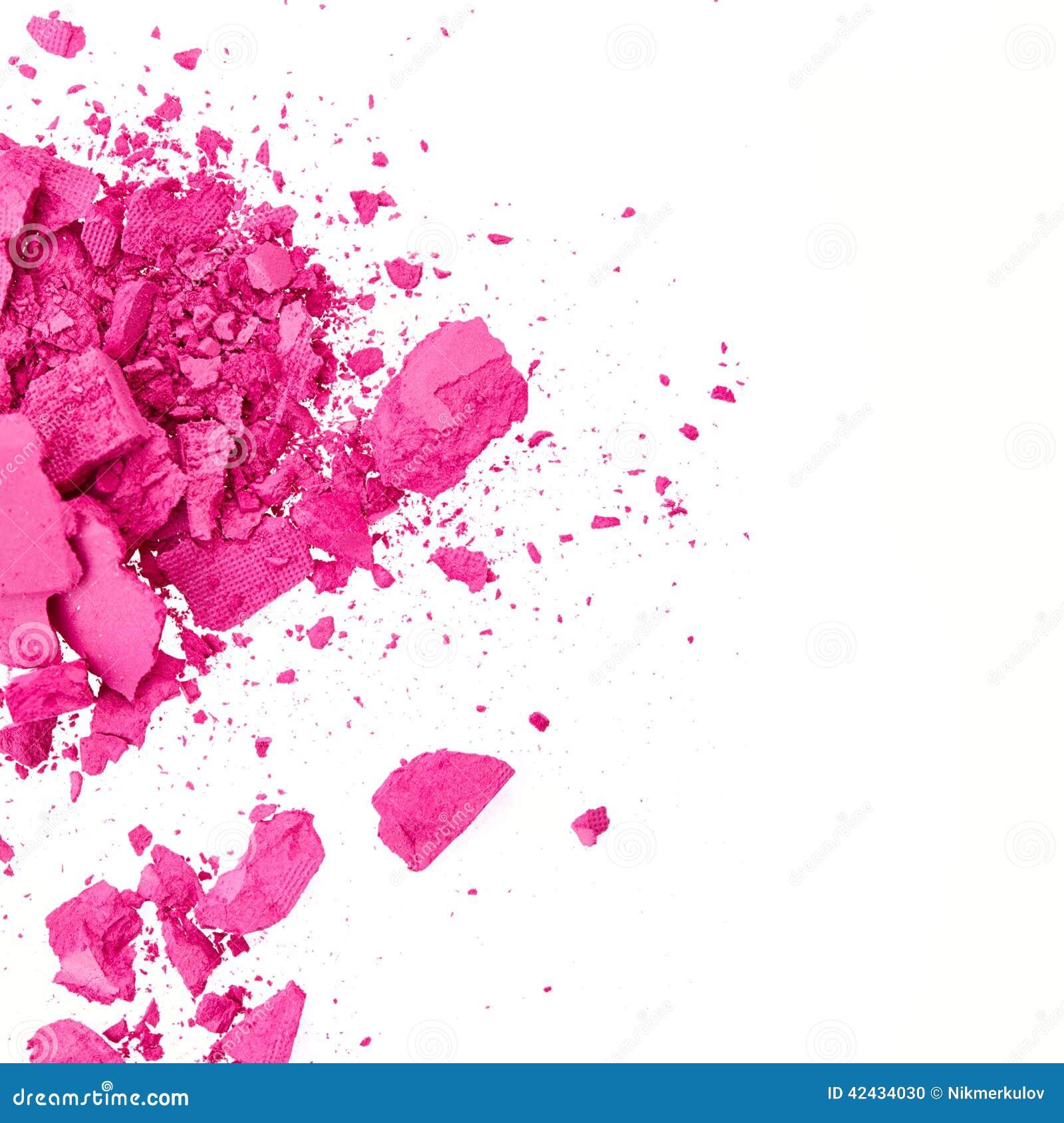 Sombra de ojo rosada