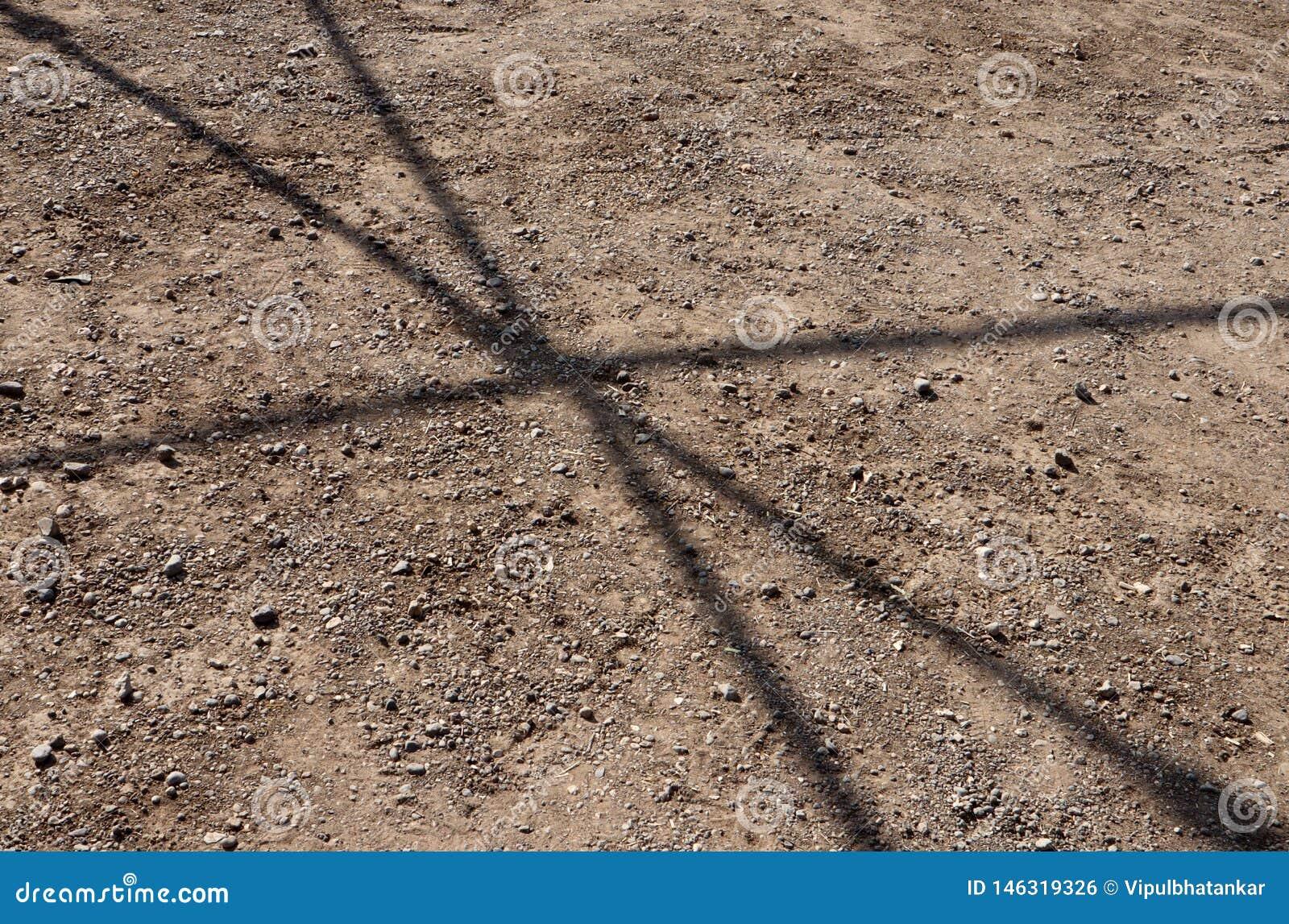 Sombra de una estructura del metal