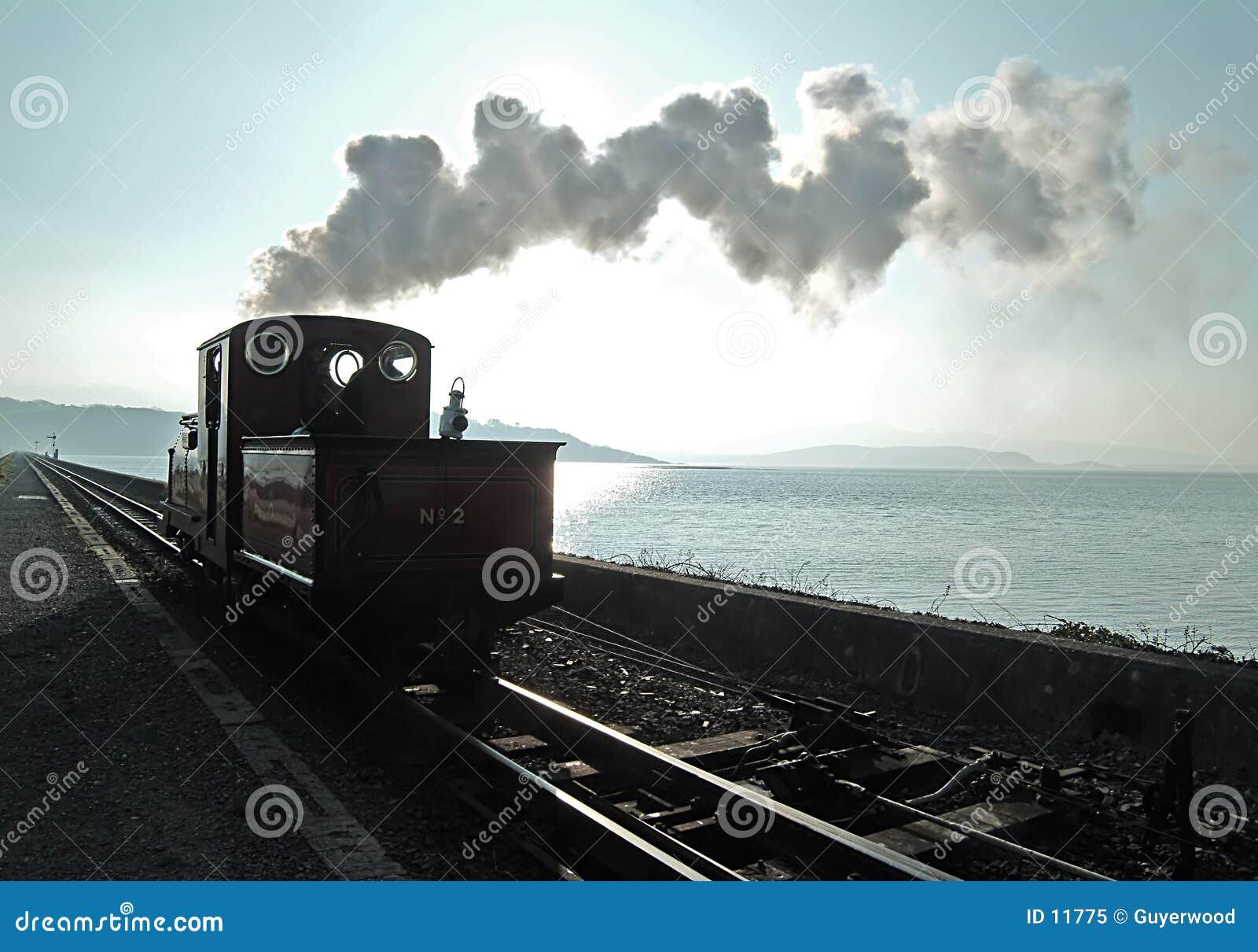 Sombra del vapor del mar de Sun