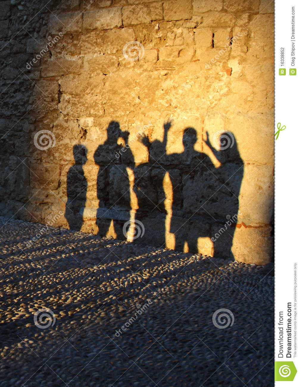 Sombras humanas