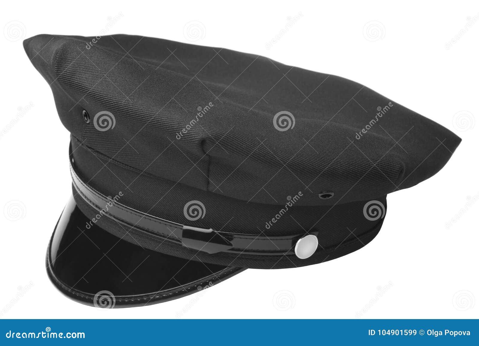 Sombrero americano de la policía