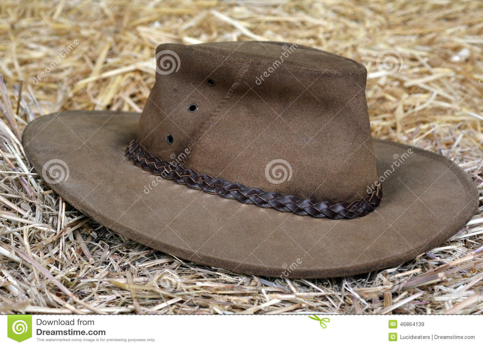 imágenes comunes del Sombrero Australiano - los derechos de la  transferencia directa el 1 5728909e463
