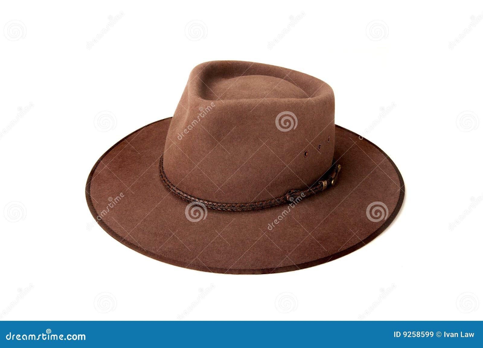 Australia típica Bush o sombrero del país también conocido localmente como  Akubra 88140ddb37a