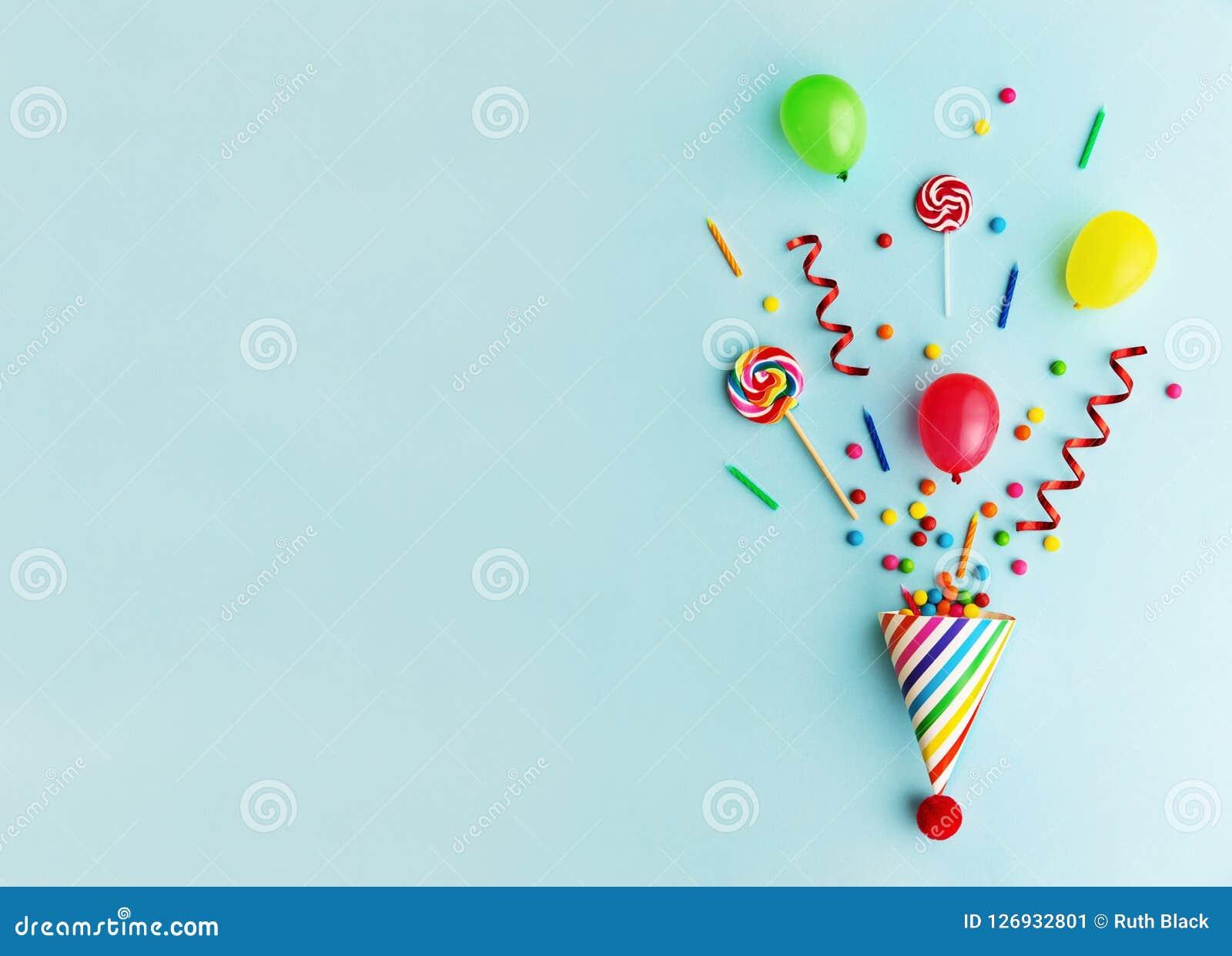 Sombrero de la fiesta de cumpleaños