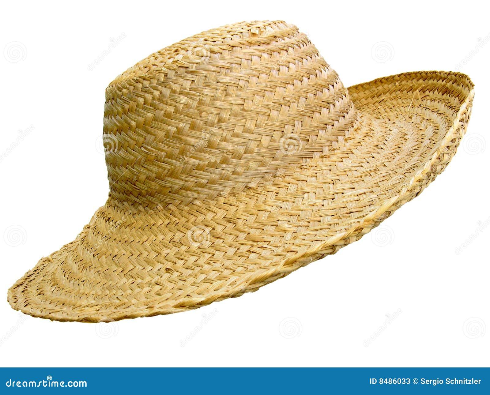 Sombrero de paja hecho a mano