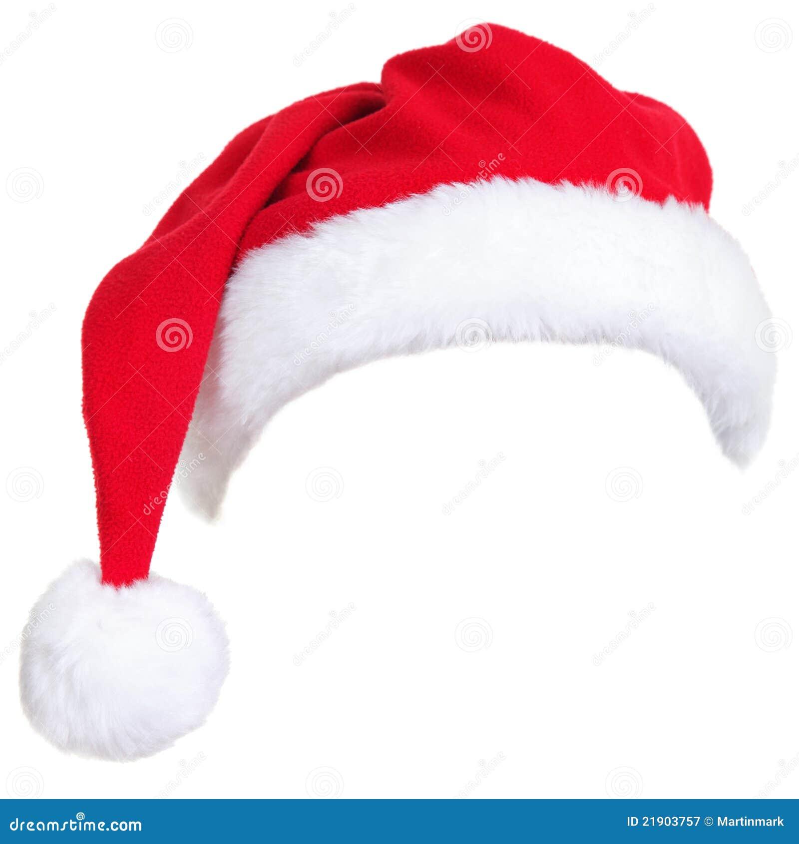 Sombrero de santa de la Navidad