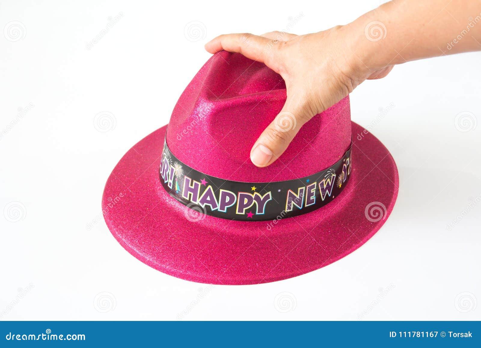 Sombrero en el fondo blanco